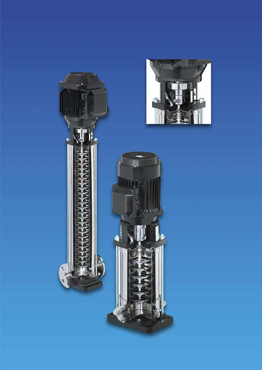 Vertical Multistage Pumps in AISI 304 , 316