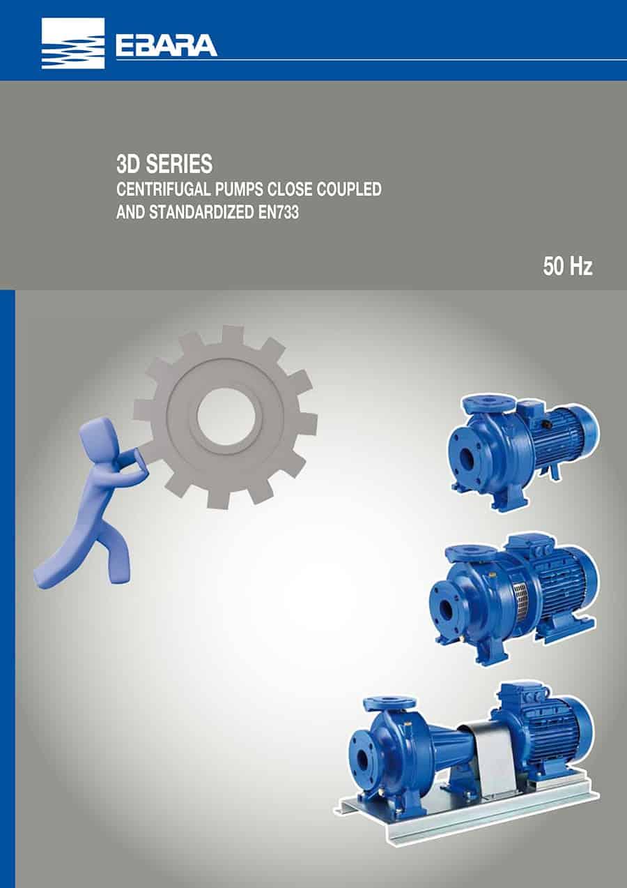Ebara-Centrifugal-Pump 3D-الکتروپمپ