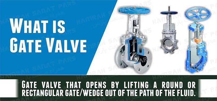 gate valve گیت ولو